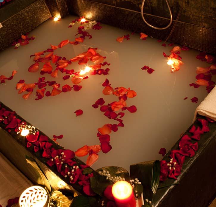 Bagno caldo relax